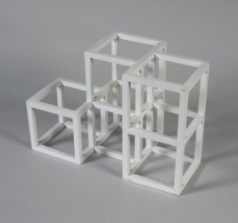 Fig 8. Maquette for 1 x 2 x 2 Half Off. 1990