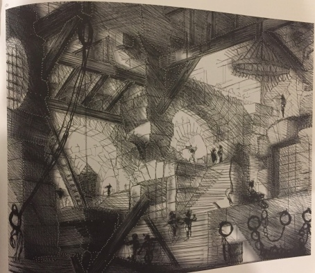 Fig 6. Prison XIII, the well, After Piranesi (2002)
